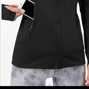 lululemon athletica Jackets & Coats - Lululemon Day Maker Full Zip Black Hoodie